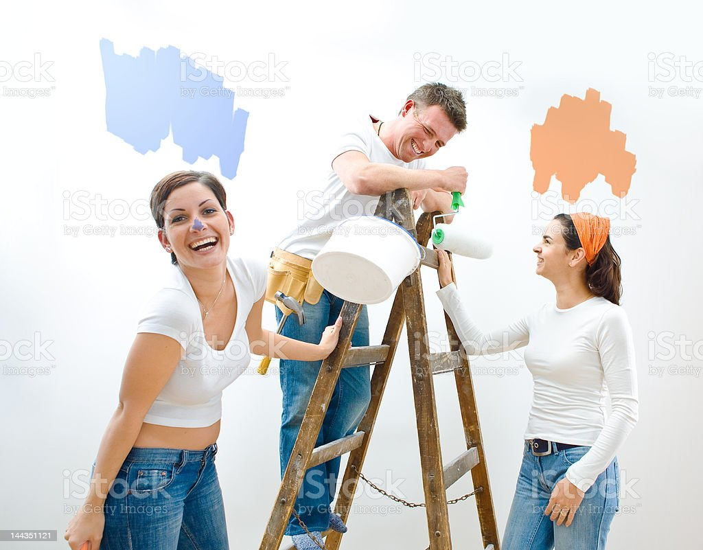 Home improvement royalty-free stock photo