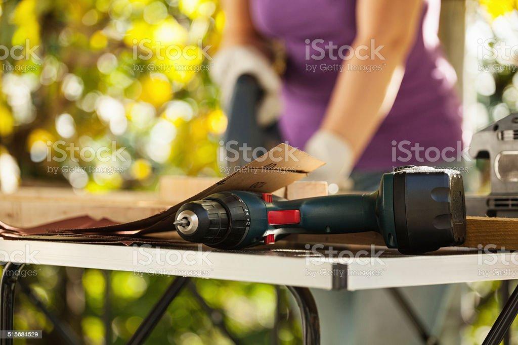 DIY - home improvement stock photo
