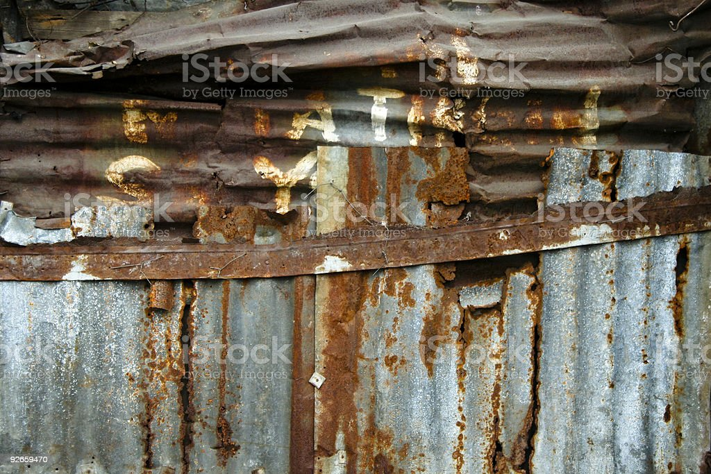 home improvement rusty metal wall background royalty-free stock photo