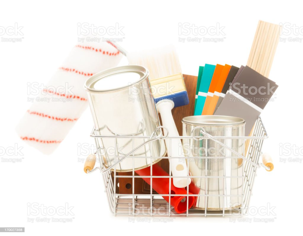 home improvement shopping royalty-free stock photo