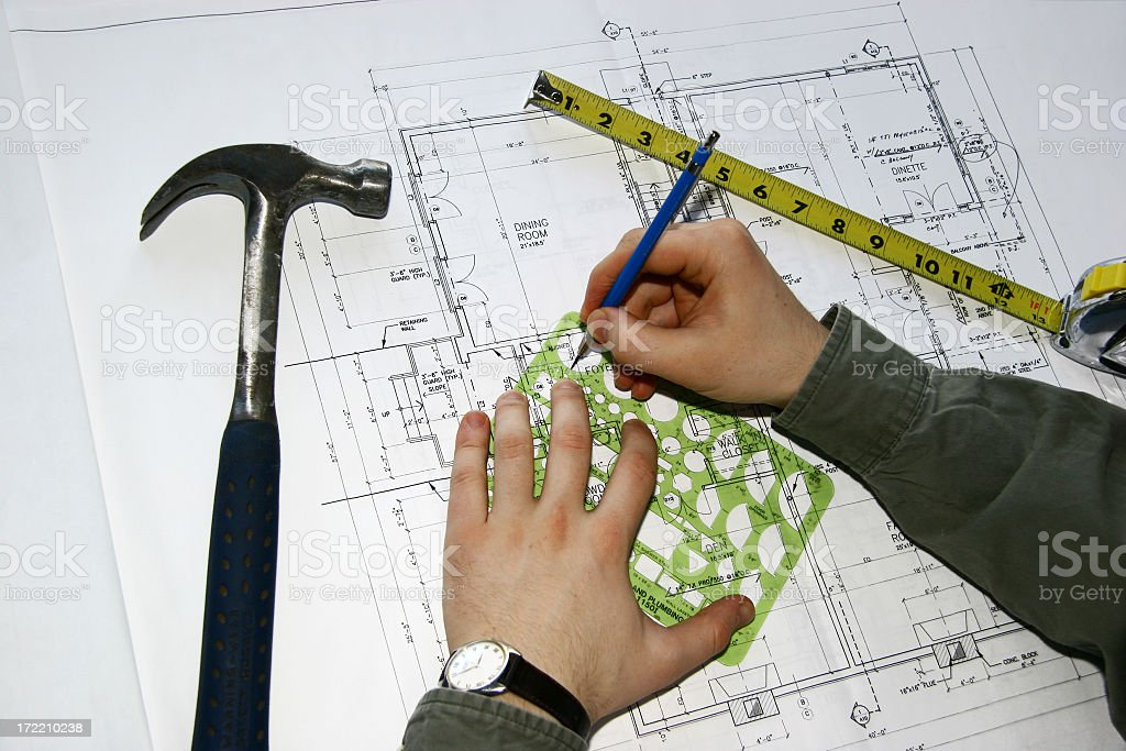Home Improvements - Project Preparation I royalty-free stock photo
