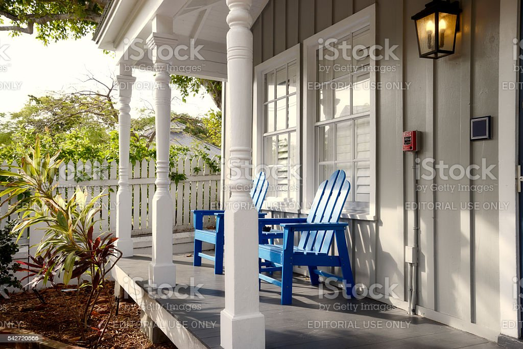 Home in Key West, Florida stock photo