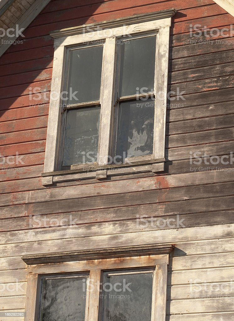Home In Need of Repair royalty-free stock photo