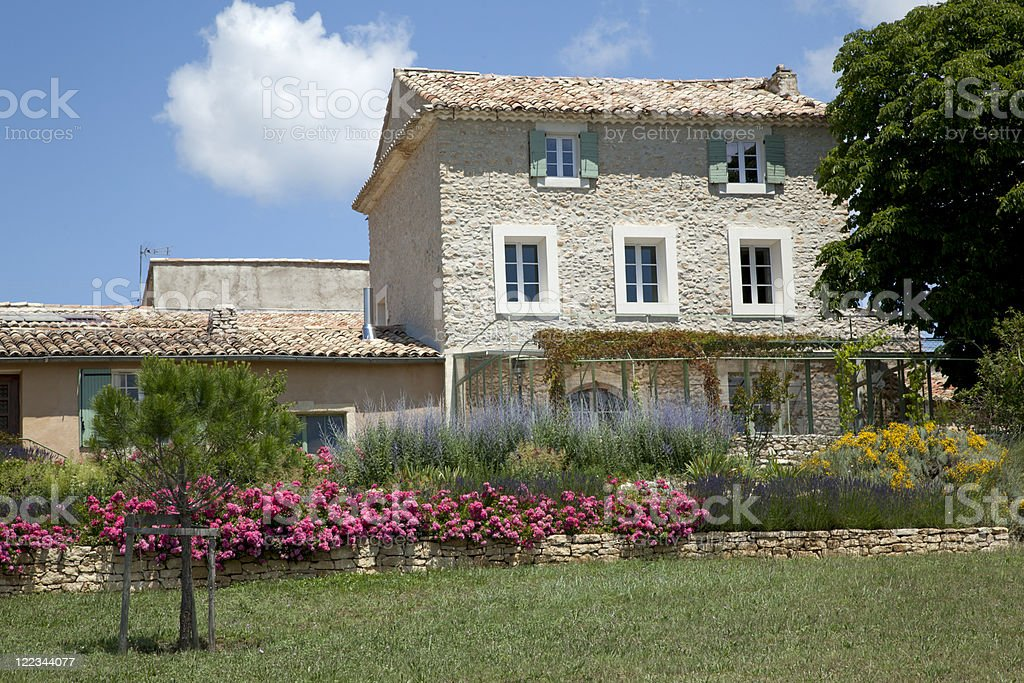 Home in Provence, France stock photo