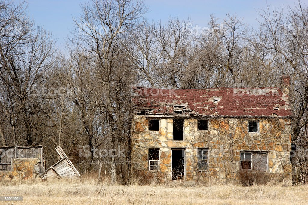 home in shambles royalty-free stock photo