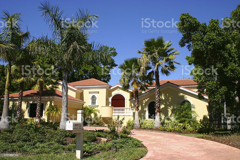 Home in the Tropics royalty-free stock photo