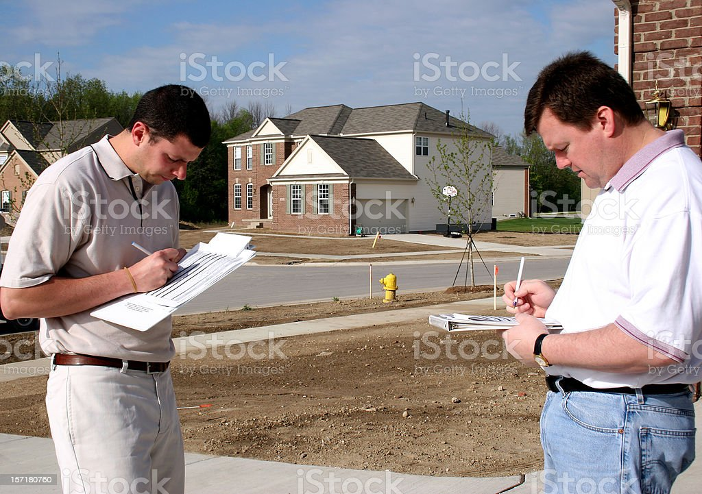 Home Inspection 1 royalty-free stock photo