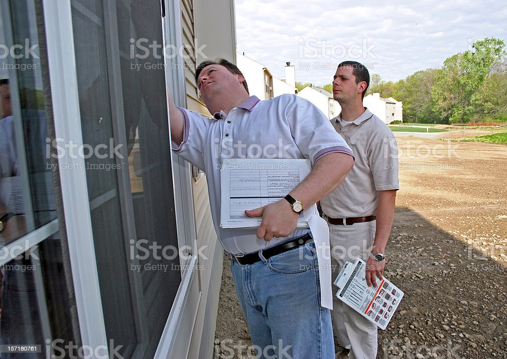 Home Inspection 2 royalty-free stock photo