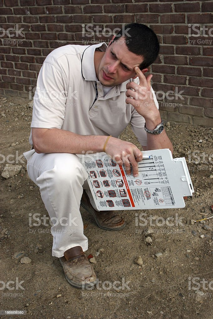 Home Inspection 4 royalty-free stock photo