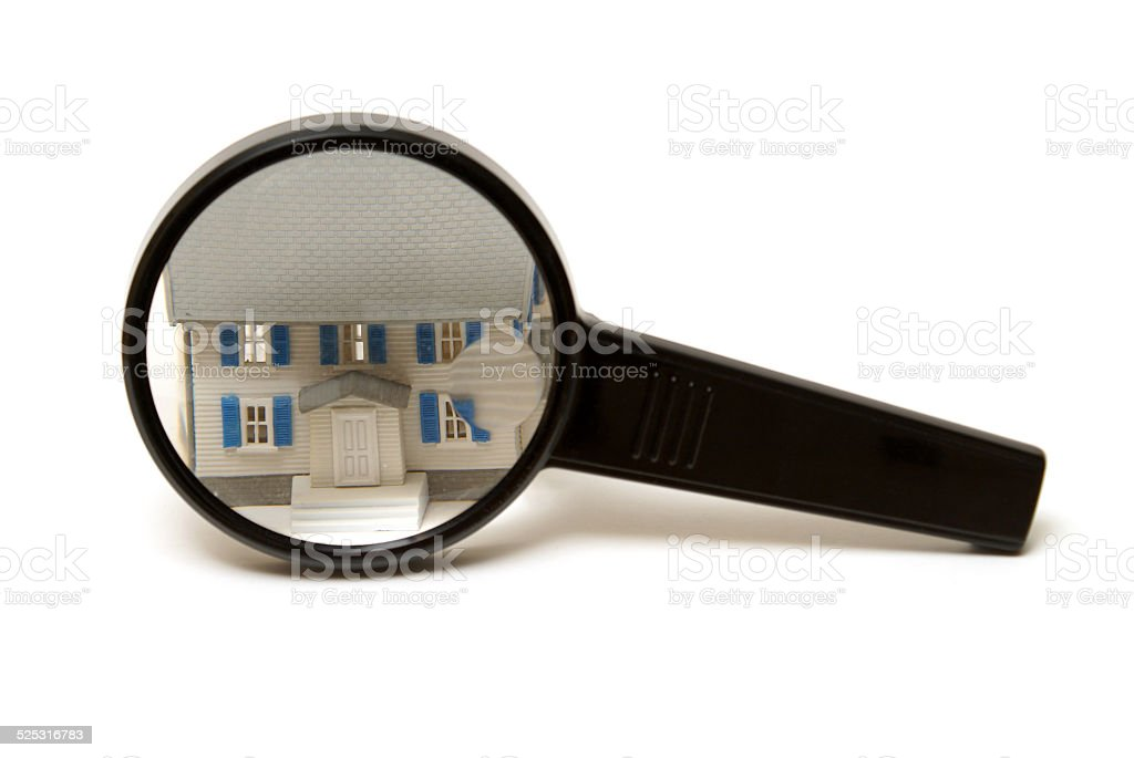 Home Inspection Concept stock photo