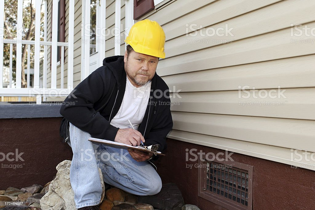 Home Inspection royalty-free stock photo
