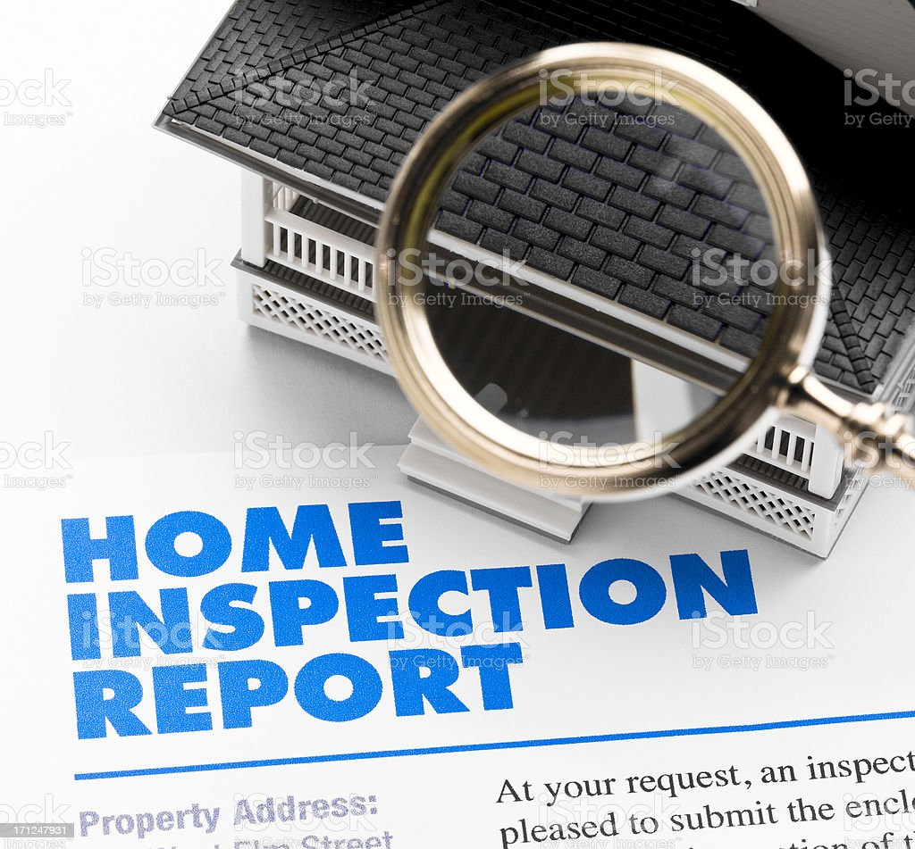 Home Inspection Report royalty-free stock photo