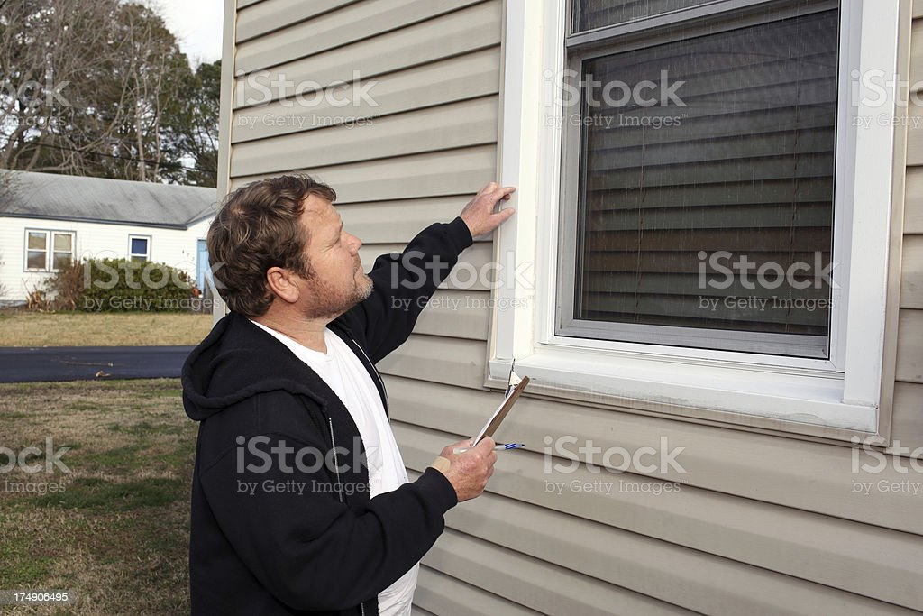 Home Inspection Series royalty-free stock photo