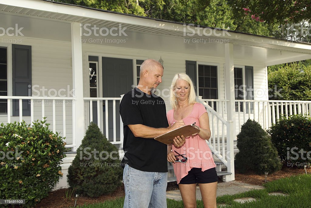 Home Inspector Series royalty-free stock photo