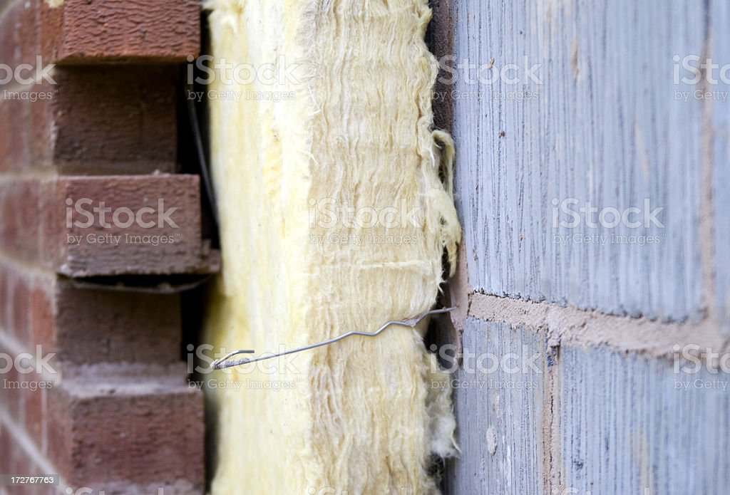 Home Insulation 3 stock photo