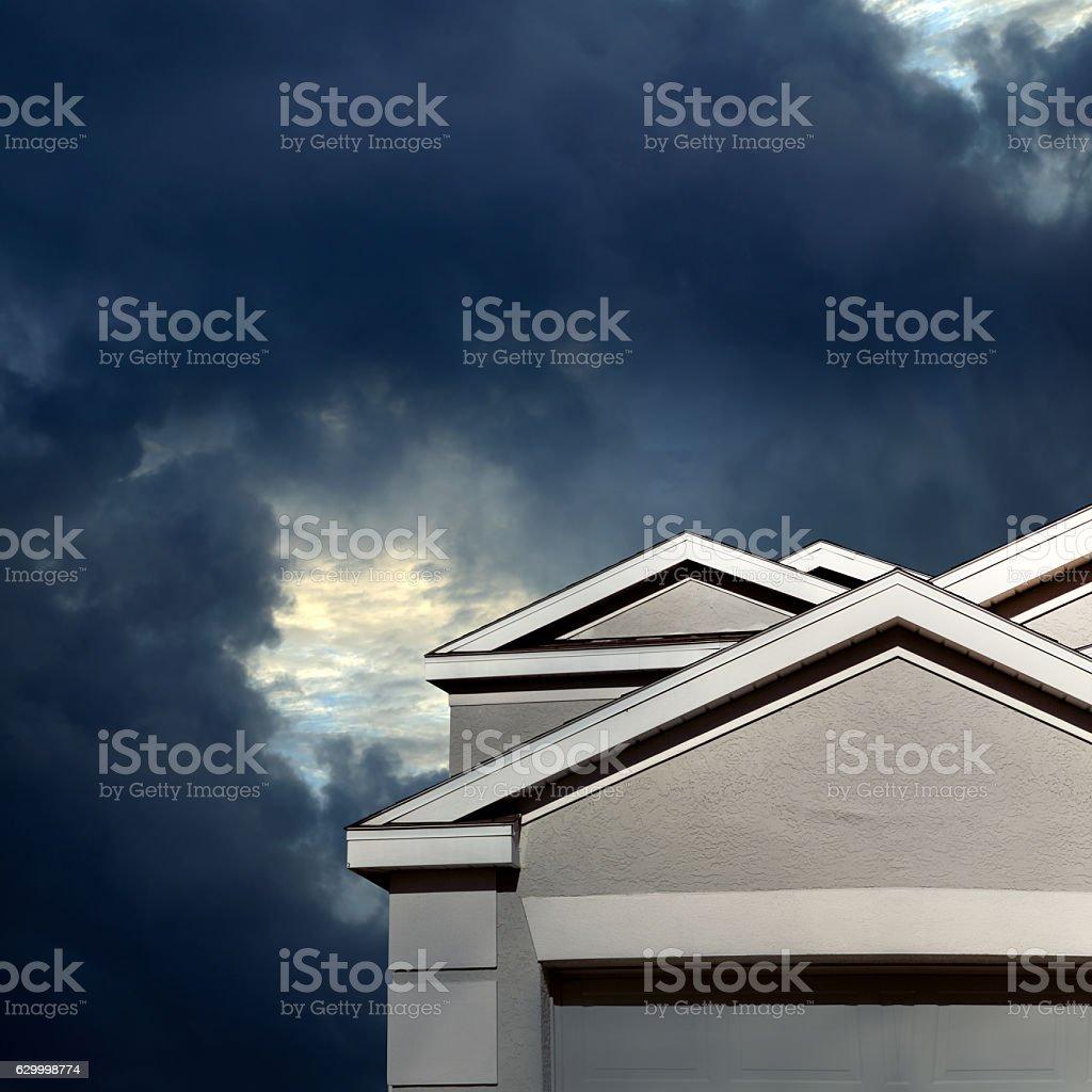 home insurance stock photo