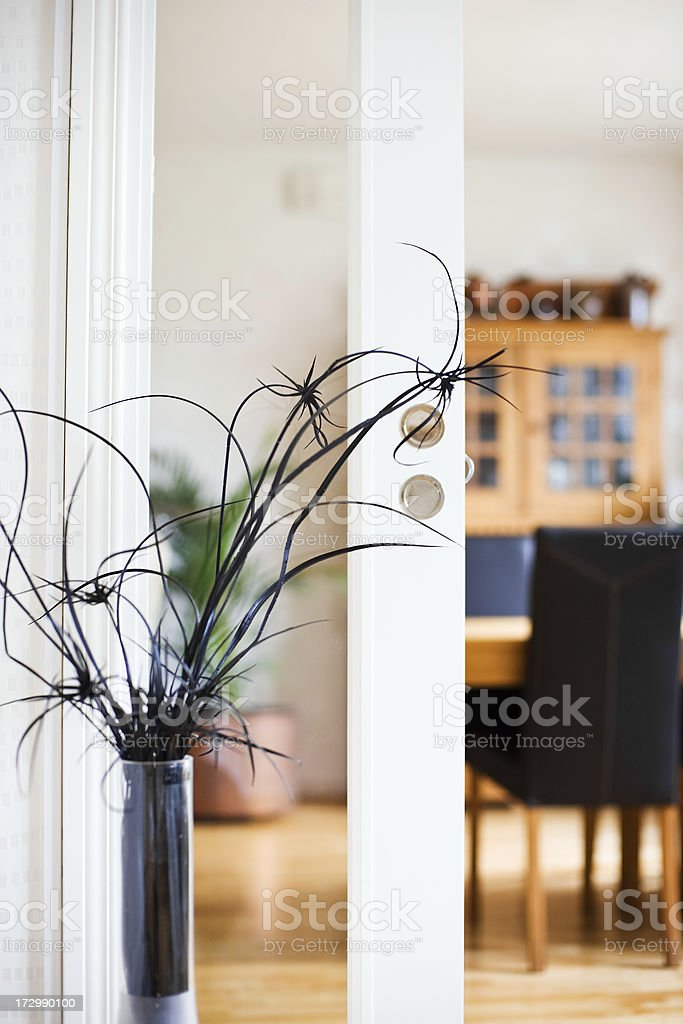 Home interior detail royalty-free stock photo