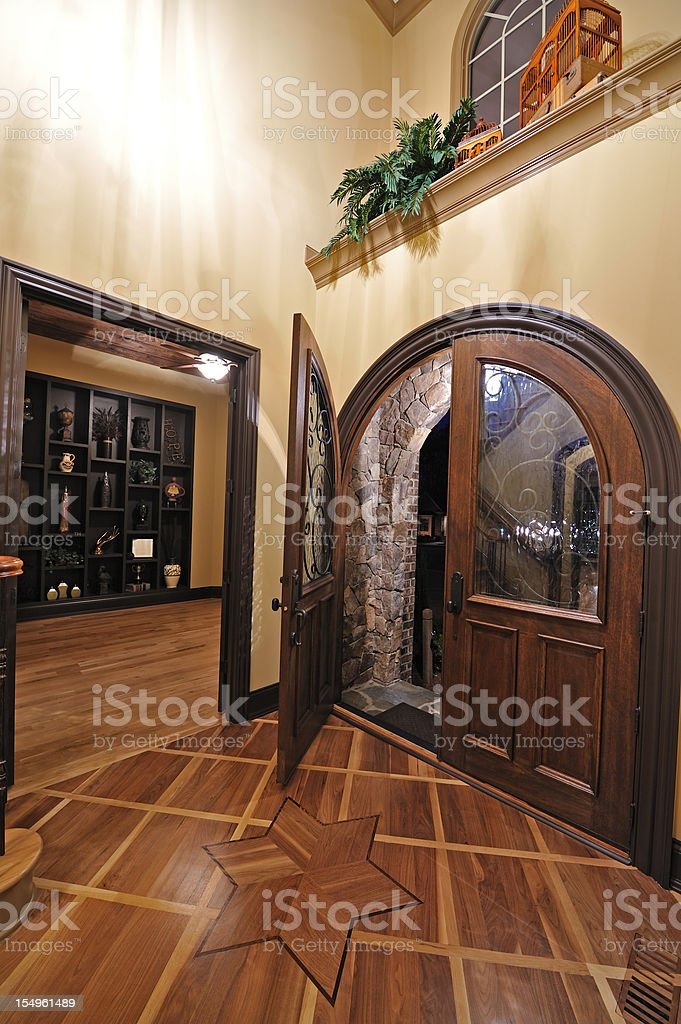 Home Interior Foyer royalty-free stock photo