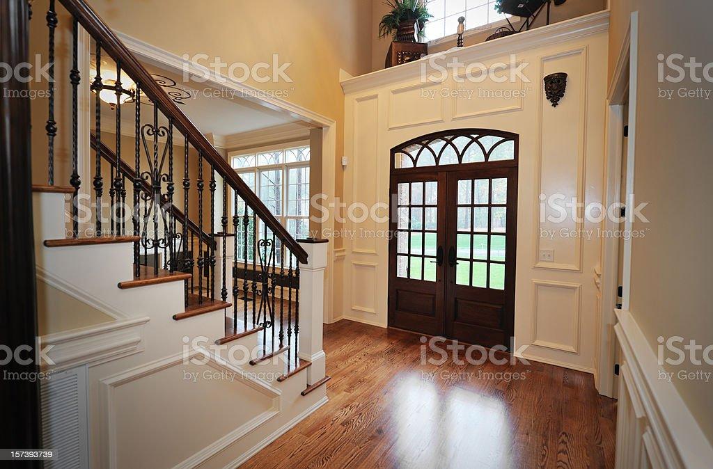 Home Interior Foyer royalty-free stock photo
