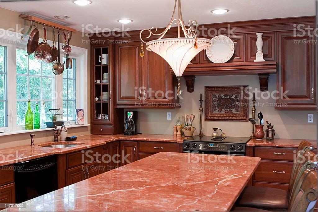 Home Interior Kitchen royalty-free stock photo