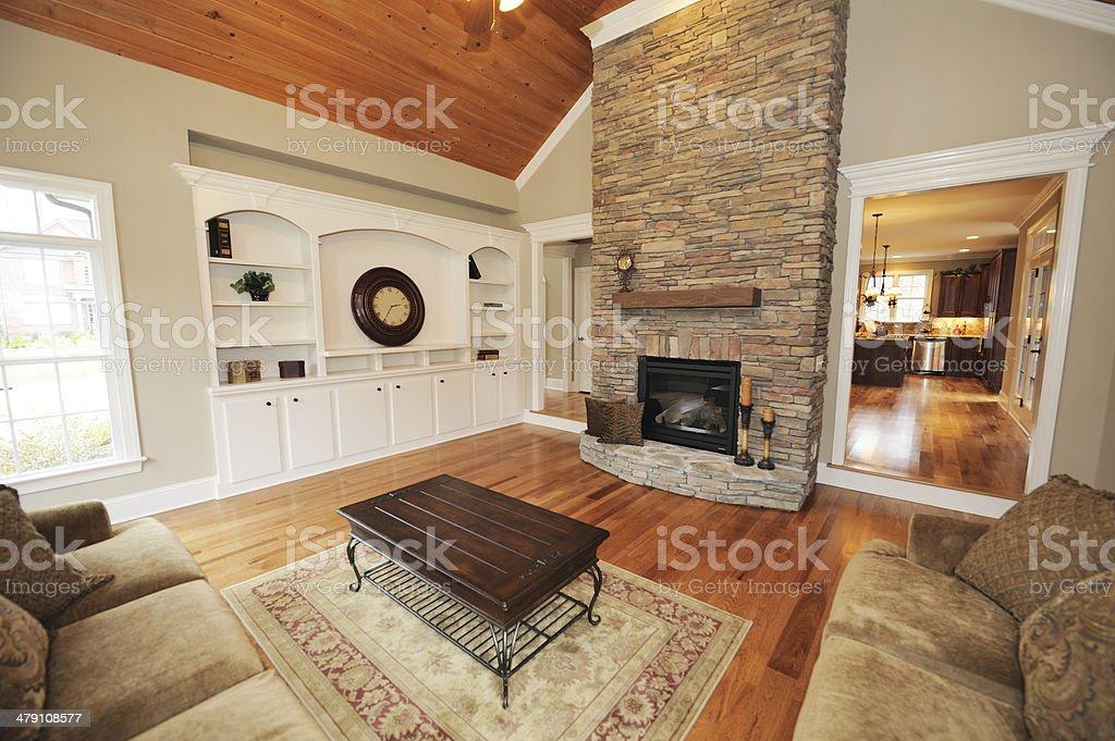 Home Interior Living Room stock photo