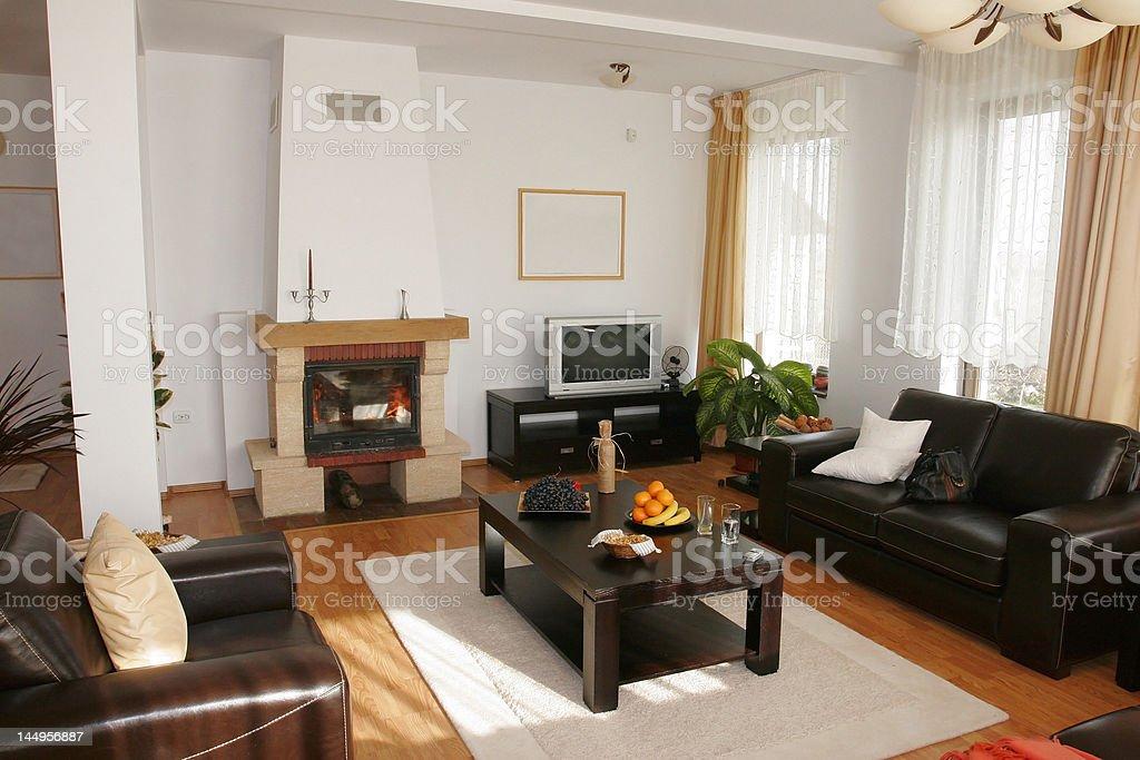 Home interior - livingroom royalty-free stock photo