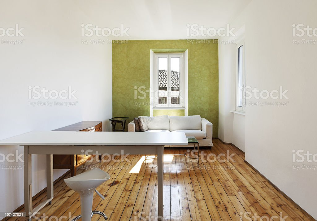 home interior, view room royalty-free stock photo