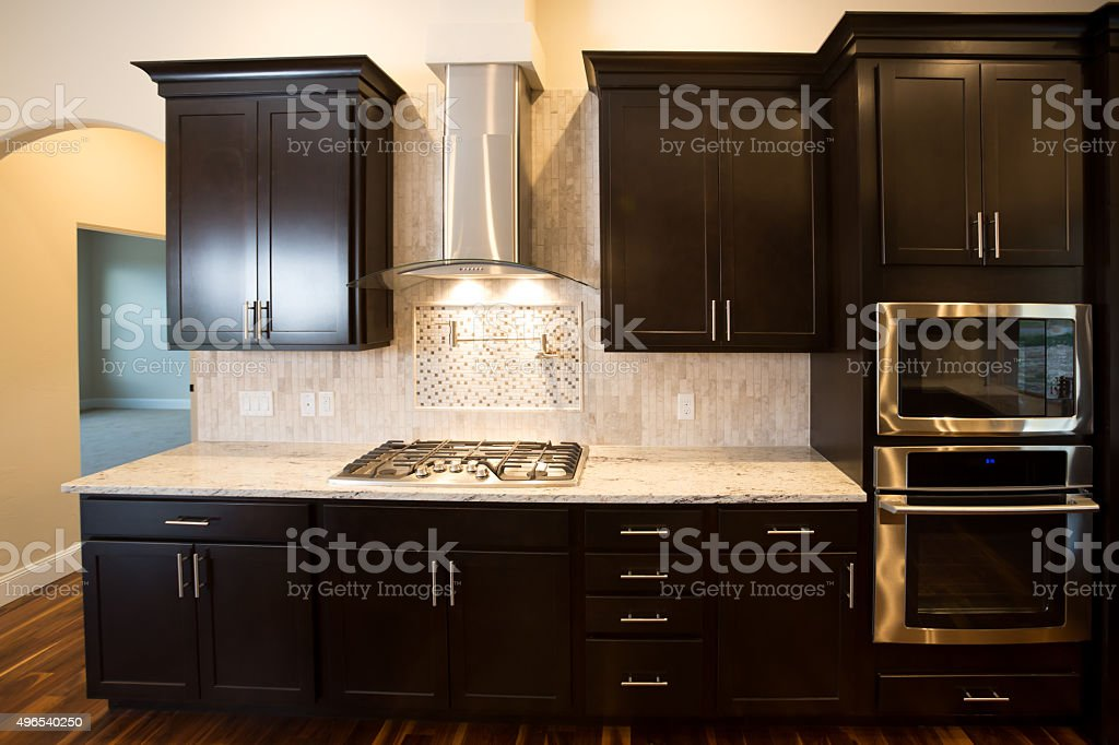 Home Interior-Kitchen stock photo