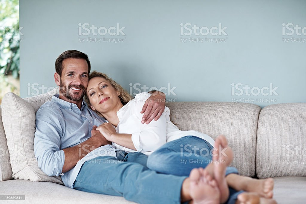 Home is not a place, it's a feeling stock photo