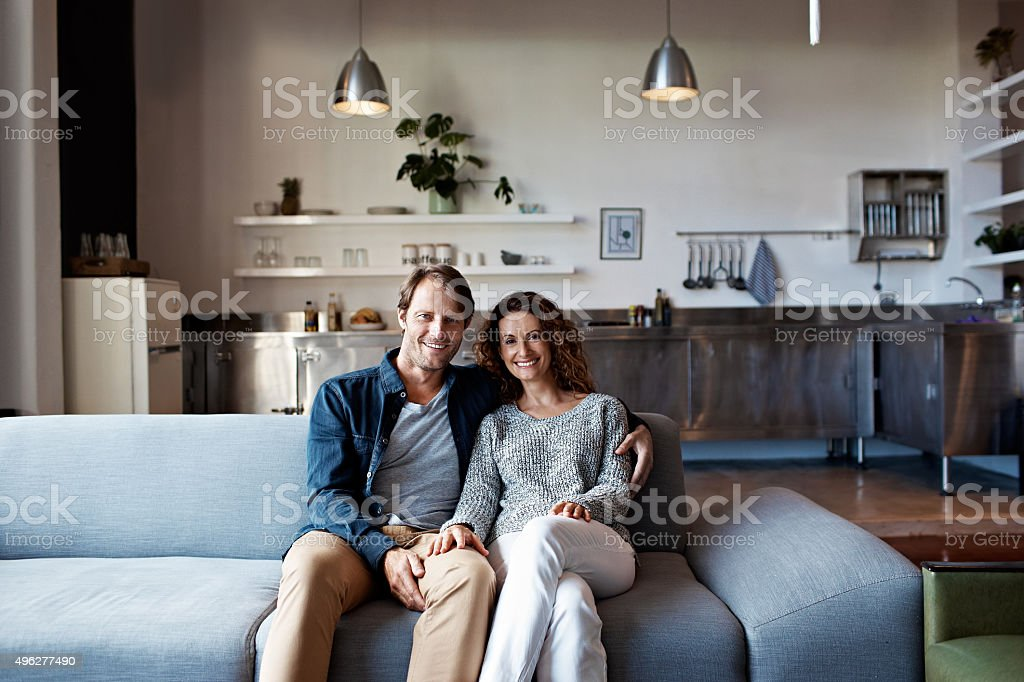 Home is where the love is stock photo