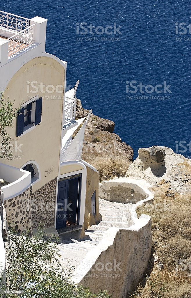 home islands cyclades stock photo