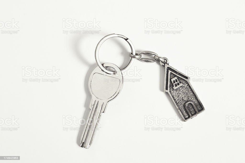 home key isolated on white background royalty-free stock photo