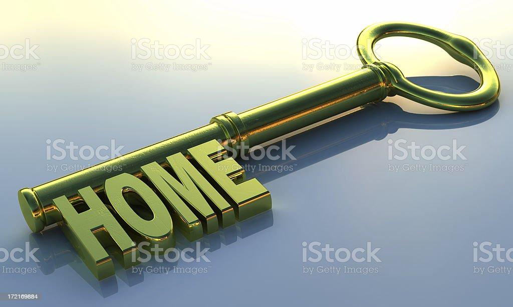 Home Key royalty-free stock photo