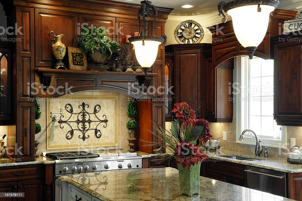 Home Kitchen royalty-free stock photo