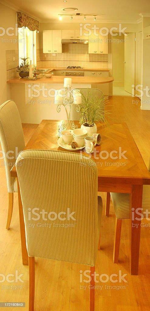 Home Kitchen royalty-free stock photo