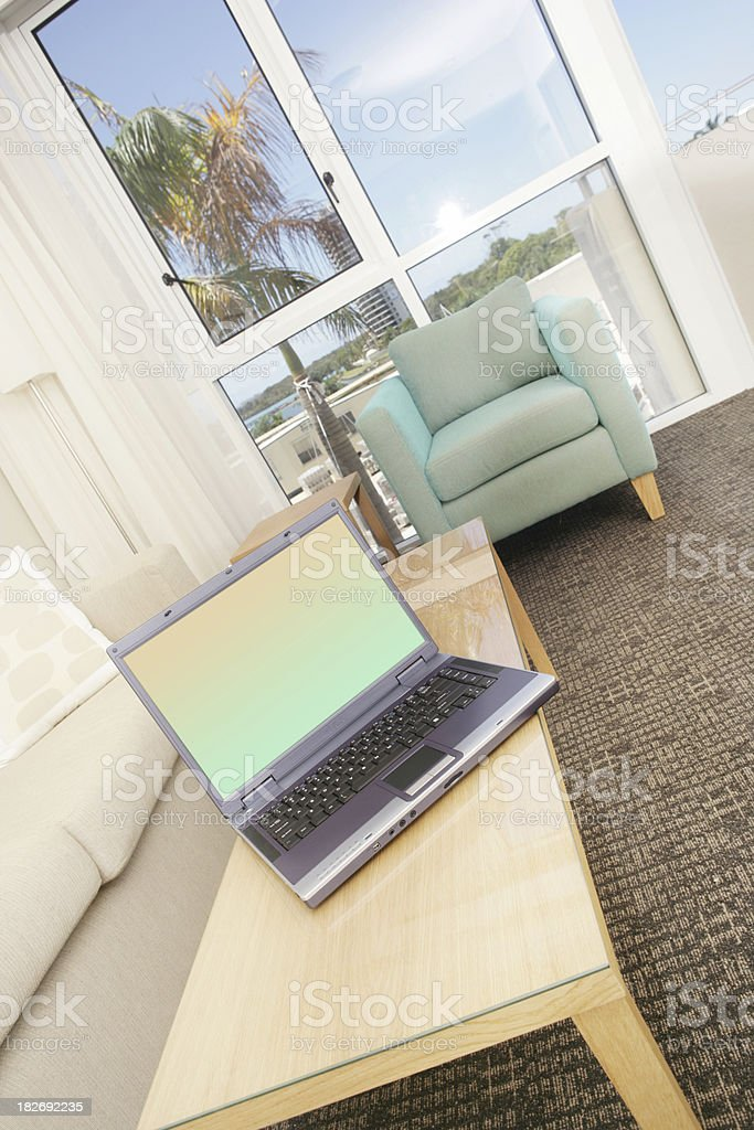Home Laptop royalty-free stock photo