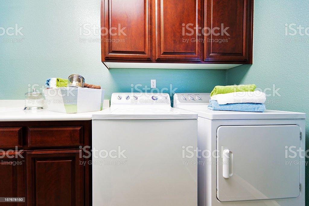 Home Laundry Room royalty-free stock photo