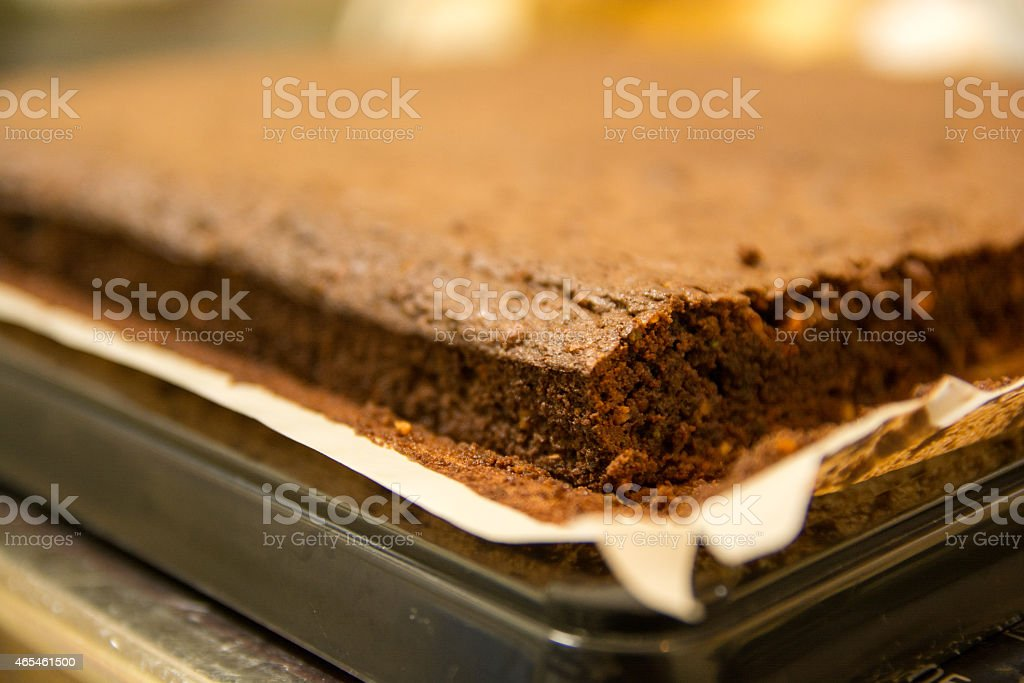 home made cake royalty-free stock photo