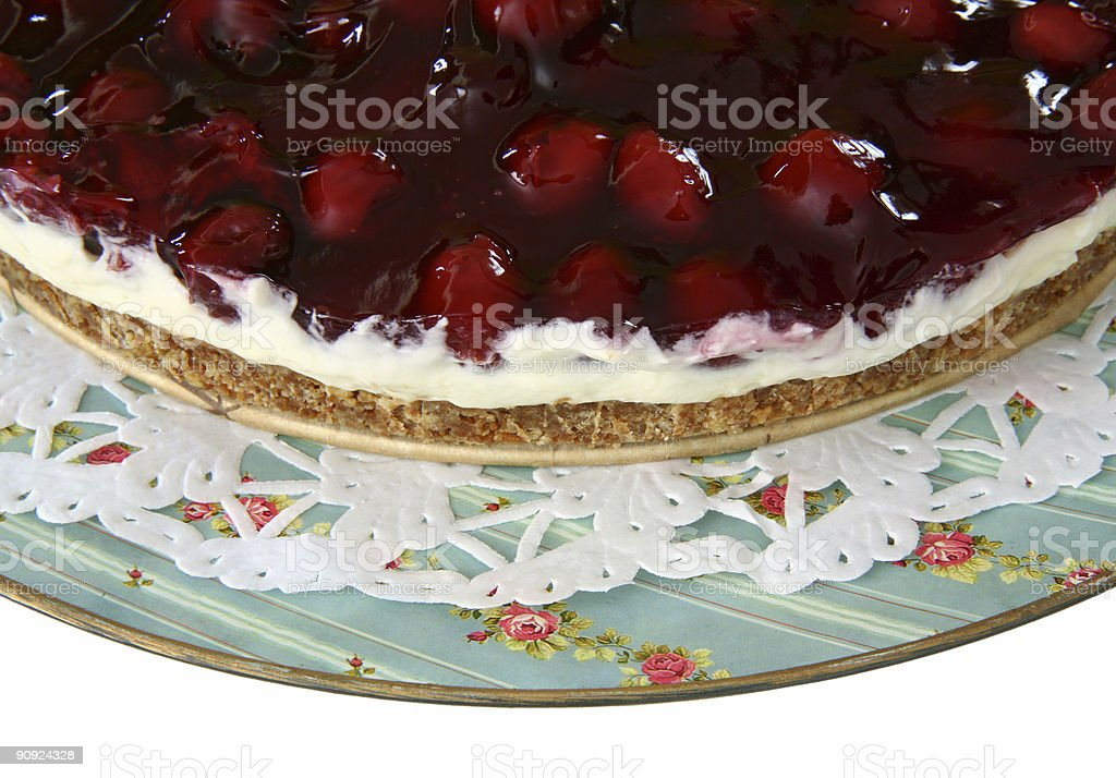 Home made cherry pie  (XL) royalty-free stock photo