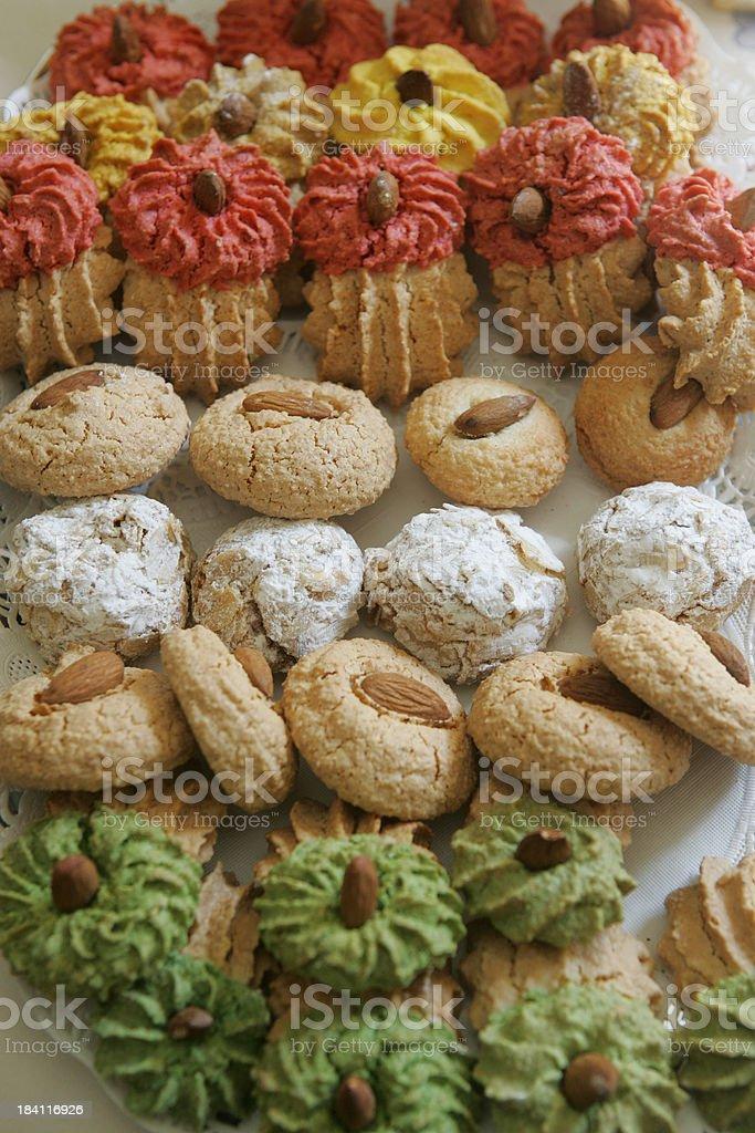 Home made Cookies stock photo