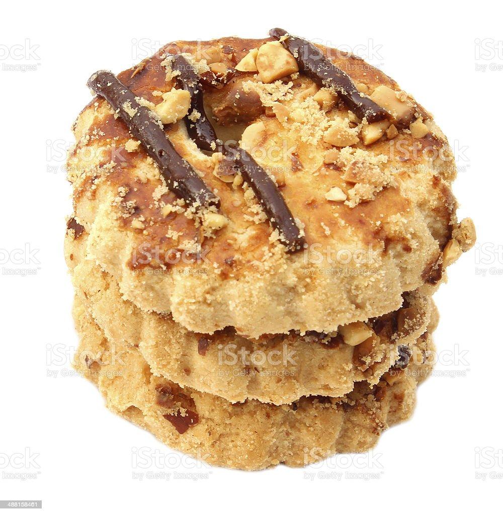 Biscuits faits maison photo libre de droits