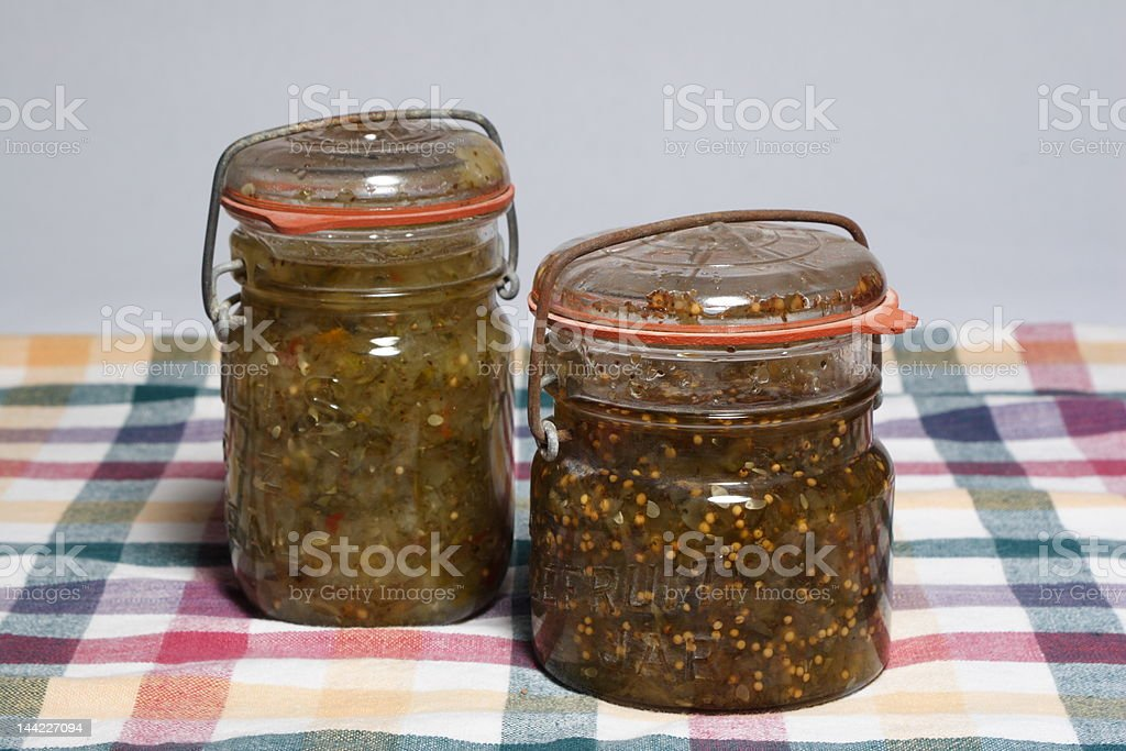 Home Made relish royalty-free stock photo
