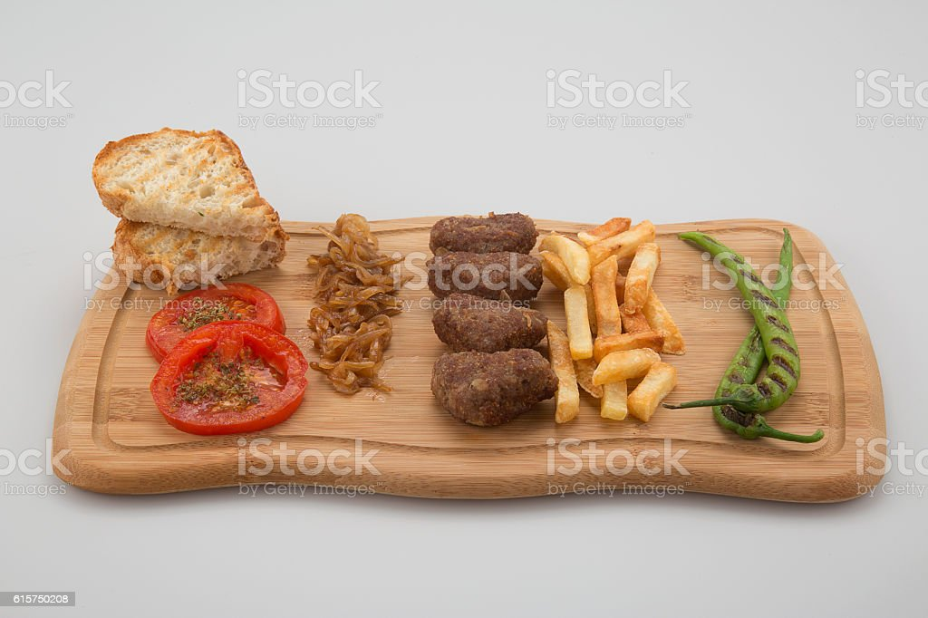 Home Made Small Meatball stock photo