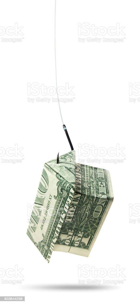 Home Mortgage Phishing stock photo