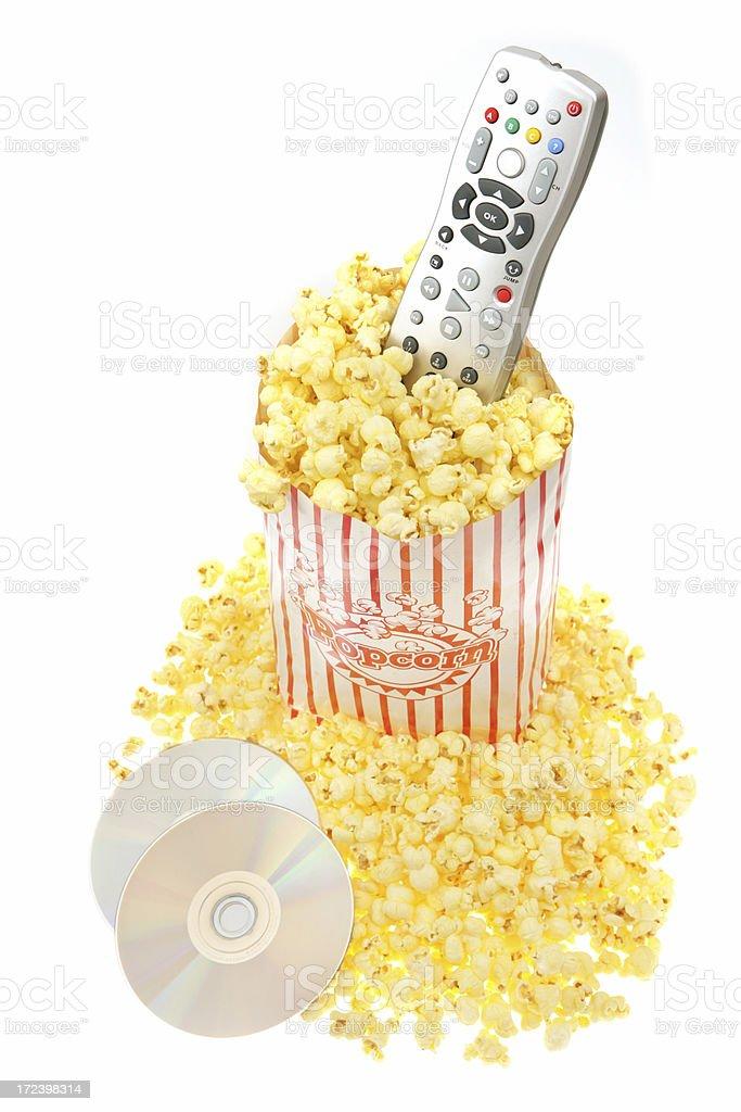 Home Movie Night royalty-free stock photo