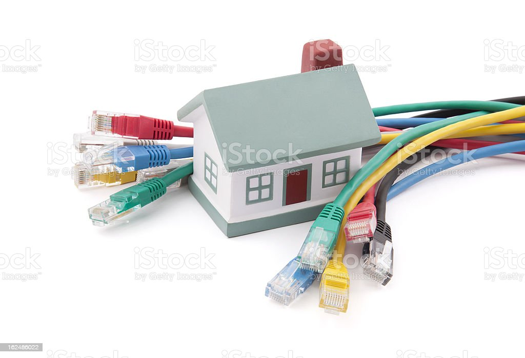Home Network royalty-free stock photo