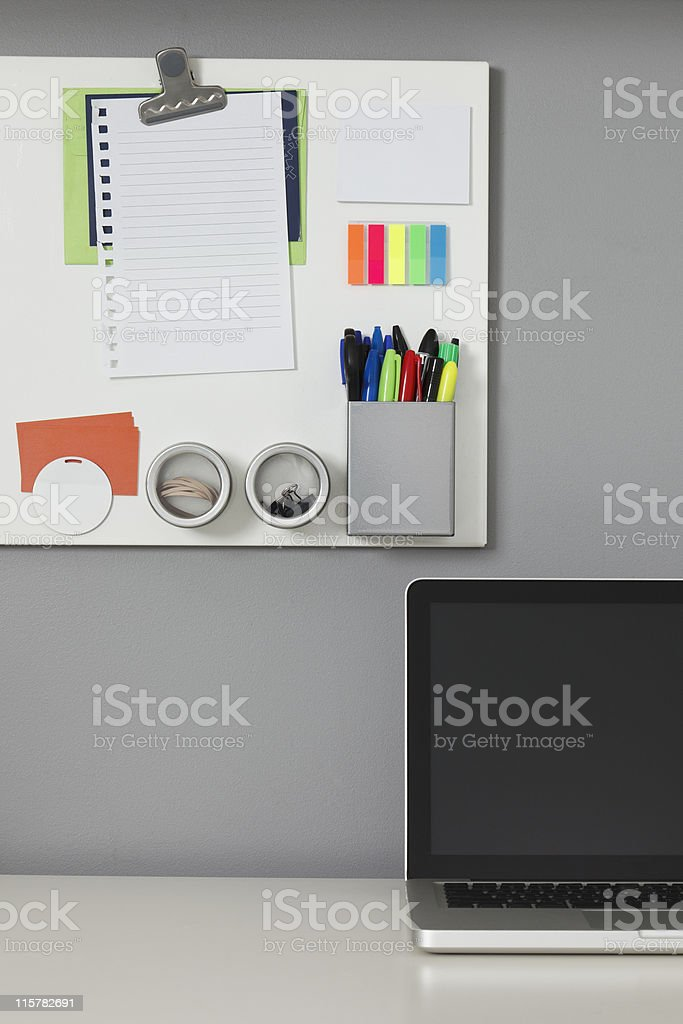 Home Office royalty-free stock photo