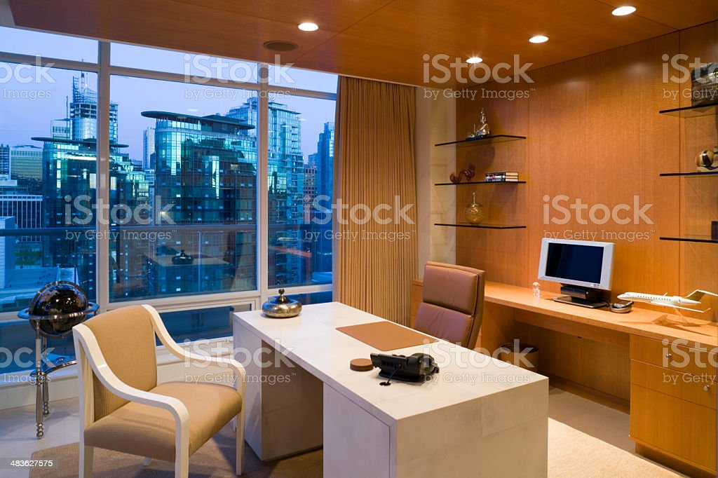 home office vancouver british columbia canada royalty-free stock photo