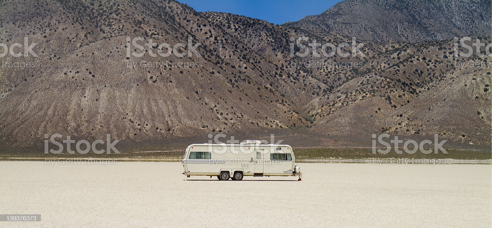 Home on the Playa royalty-free stock photo