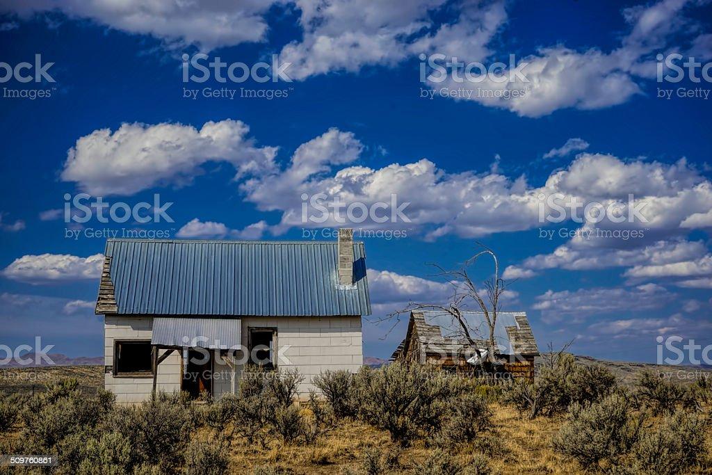 home on the range stock photo